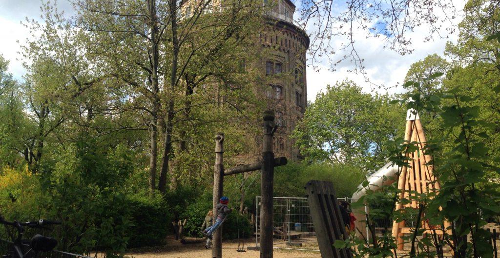 Wasserturm-Spielplatz Sperrung