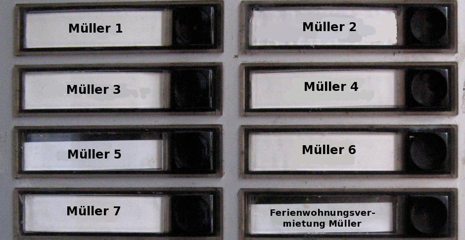 Alles Müller oder was? (Foto: PBN)