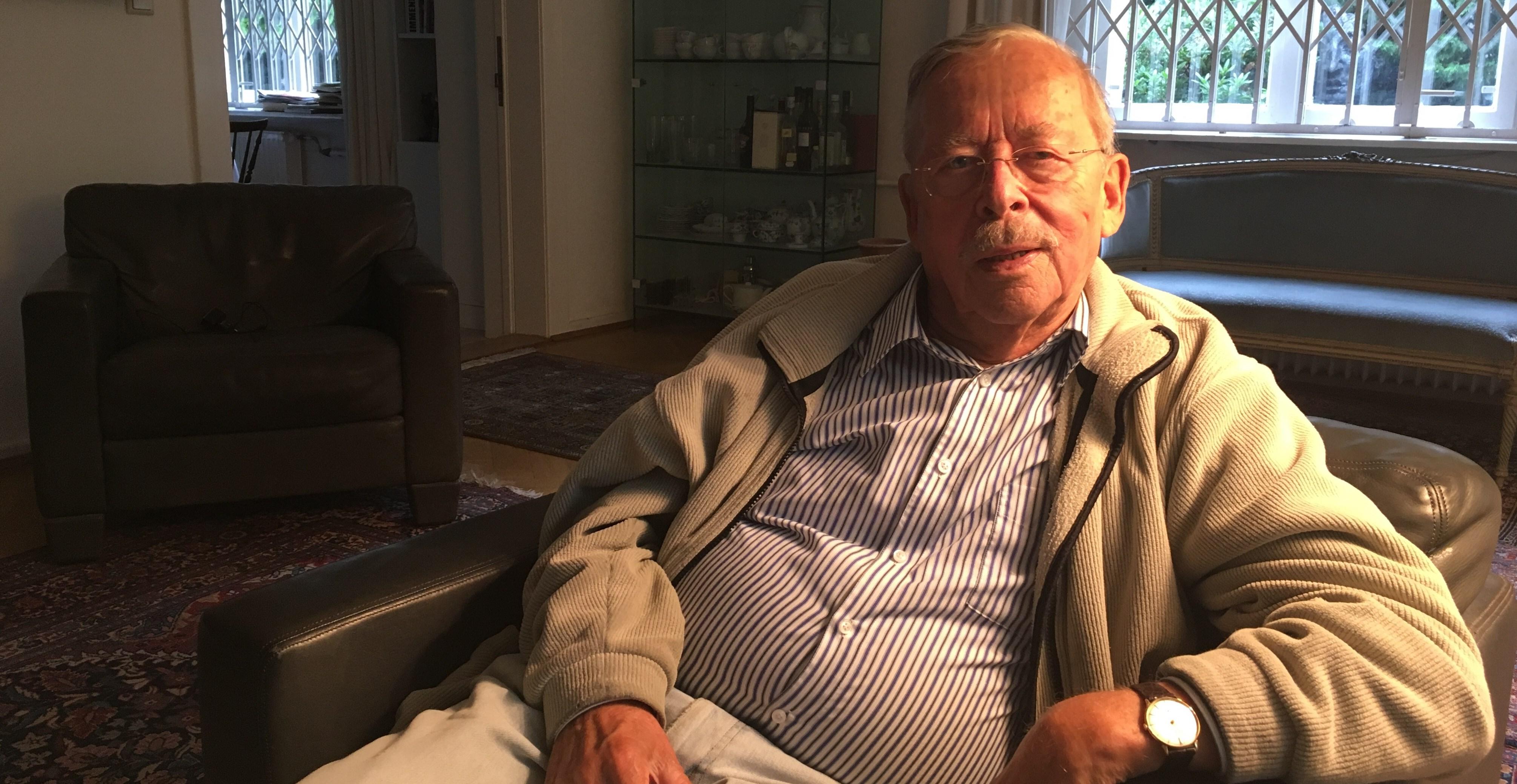 Arne Kollwitz in seinem Haus in Schlachtensee (Foto: Constanze Nauhaus)