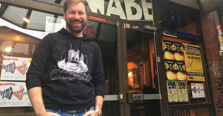 Seit Anfang 2017 leitet Marc Lippuner die WABE (Foto: Constanze Nauhaus)