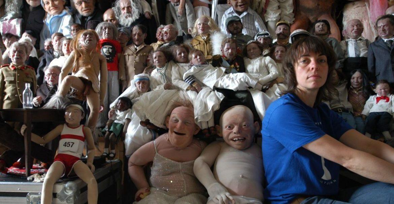 Puppenspielerin Suse Wächter