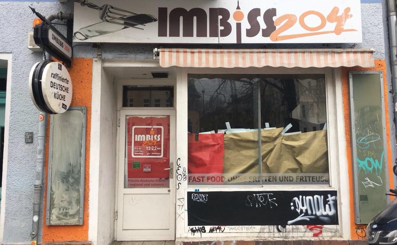 Imbiss 204 Prenzlauer Berg