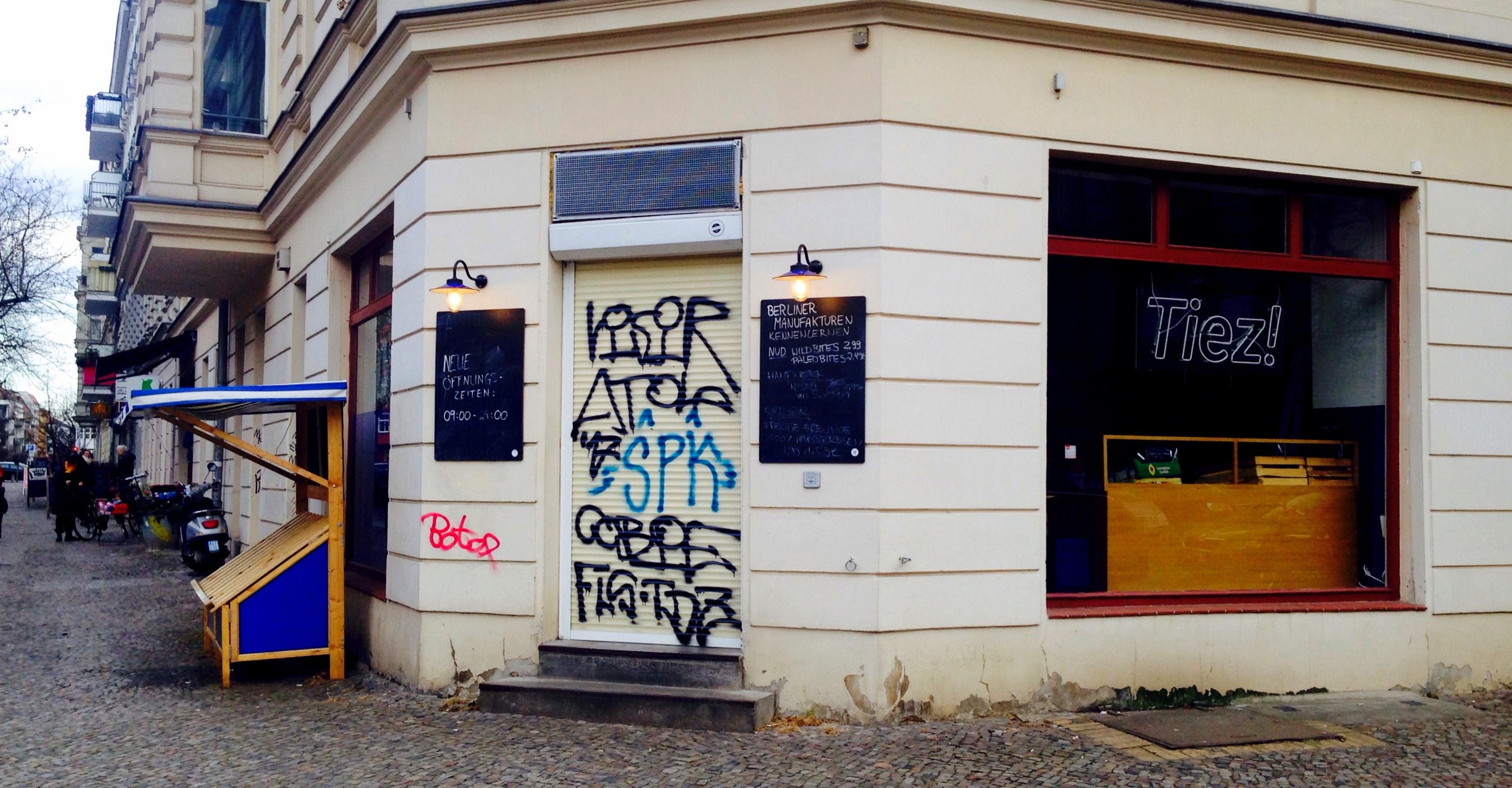 Tiez zu Güterbahnhof Greifswalder Straße