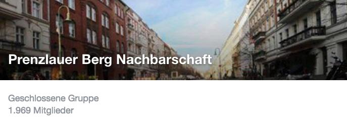 Gruppe Prenzlauer Berg Newsletter