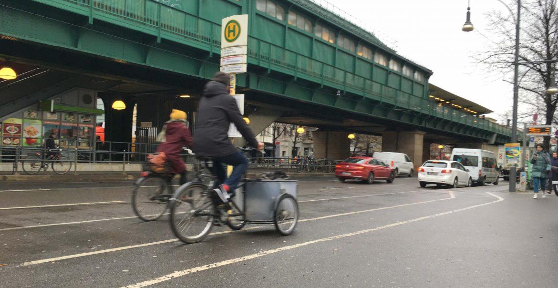 Radweg Fußgänger Schönhauser