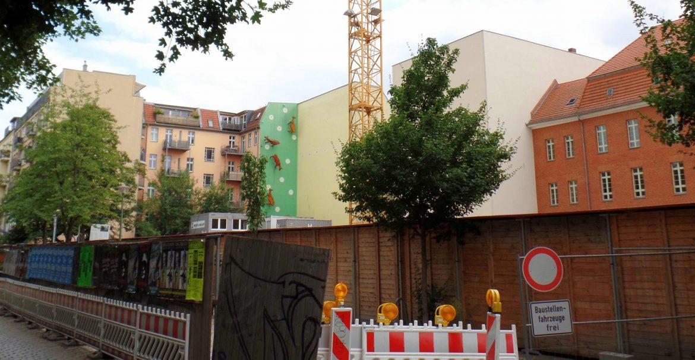 Baustelle Turnhalle Bonhoeffer-Straße