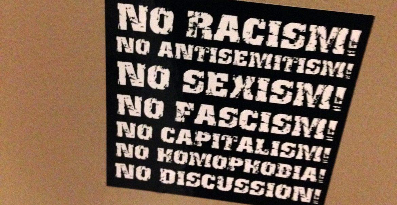 Aufkleber Antisemitismus