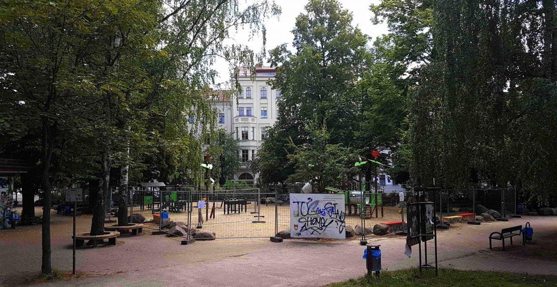 Prenzlauer Berg Teutoburger Spielplatz