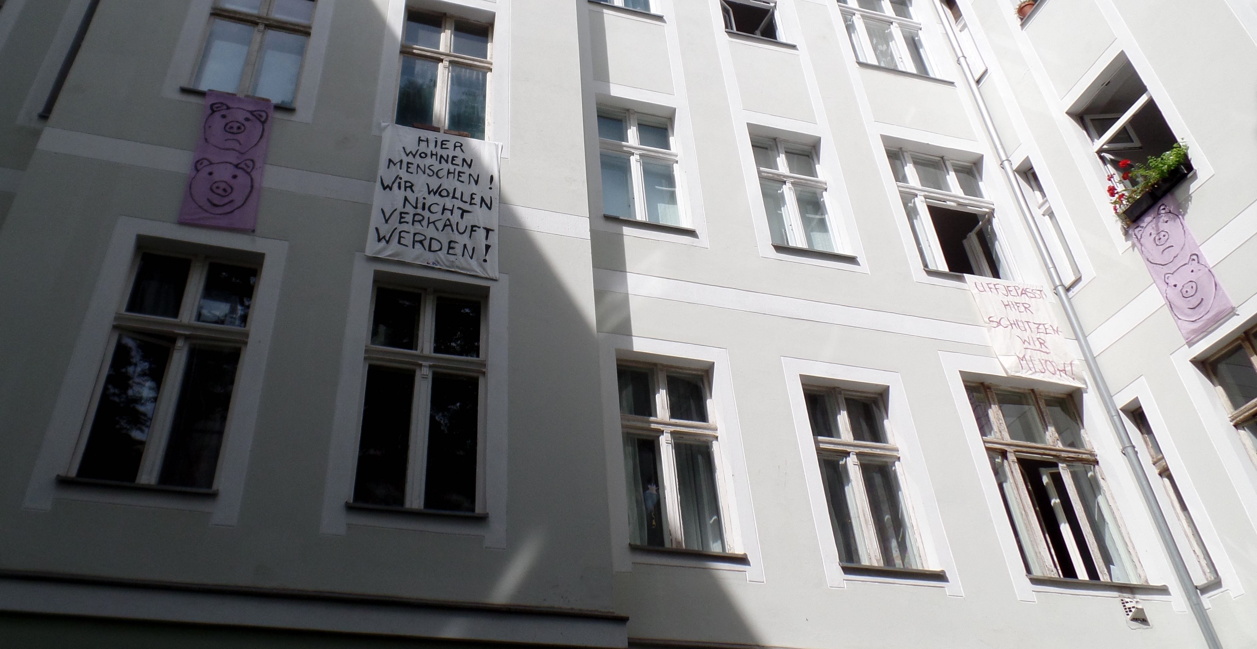 Gleimstraße 56 Banner