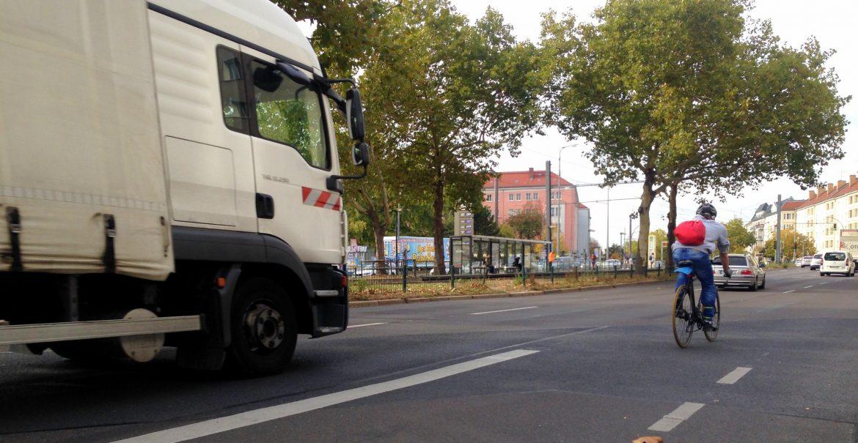 Radweg Danziger Straße