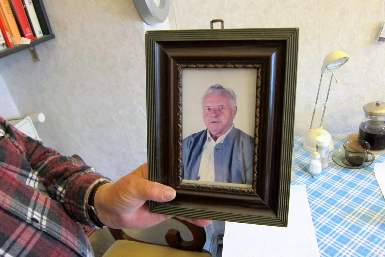 Ein Bild aus vergangenen Tagen: Ernst Kühn mit Mitte 50
