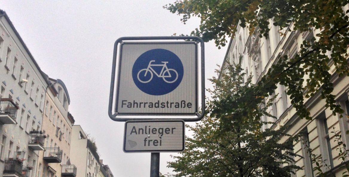 Fahrrad Fahrradstraßen