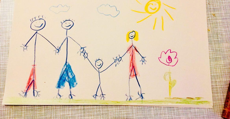 Vater, Vater, Mutter, Kind - Alltag für Anton (Bild: C. Nauhaus)