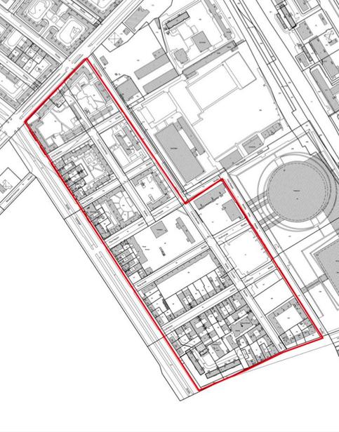 Karte Erhaltungsgebiet Danziger Straße Ost