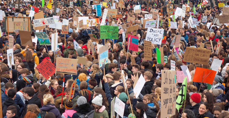 Klimastreik Klimakonzept Klimapolitik Klimawandel