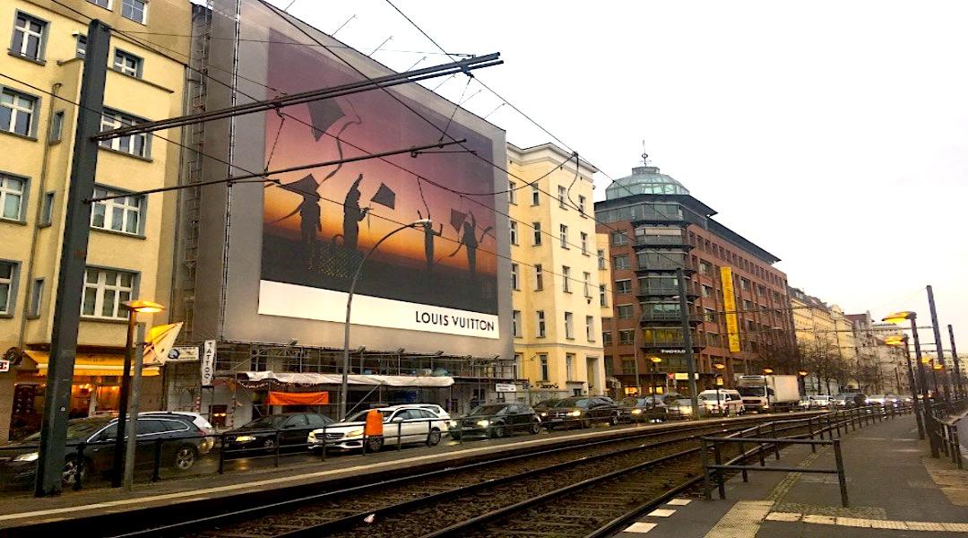 Werbebanner Torstraße