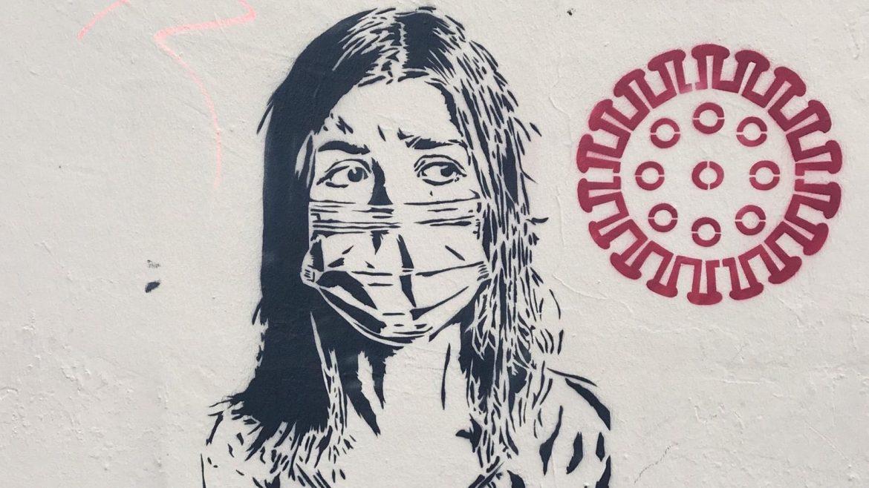 Corona Graffiti BVV