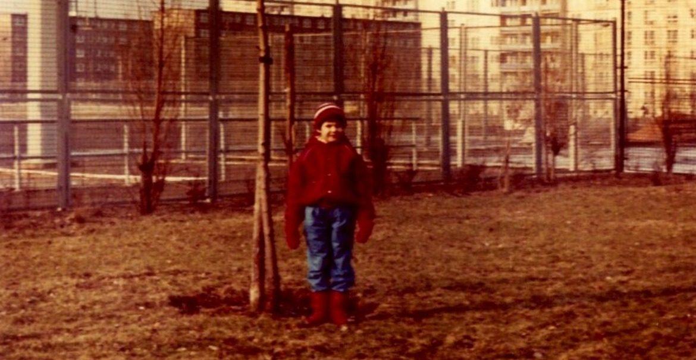 Christiane Lötsch als Kind. Foto:privat