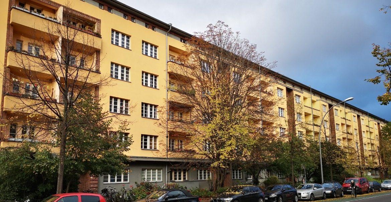 Heimstaden - Wohnblock Wisbyer