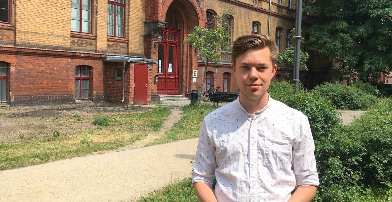 Paul Schlüter sitzt seit fünf Jahren für die Linke in der Pankower BVV