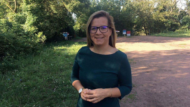 Denise Bittner ist Spitzenkandidatin der CDU für die BVV Pankow.