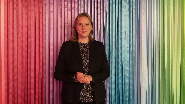 Rona Tietje ist in Pankow Stadträtin für Soziales und kandidiert für die SPD für das Amt der Bezirksbürgermeisterin.
